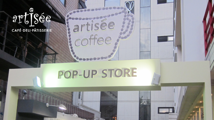 Artisse coffee Pop-up Store